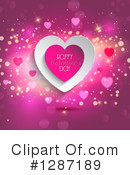 Royalty-Free (RF) Valentines Day Clipart Illustration #1287189