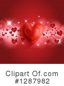 Valentines Day Clipart #1287982 by KJ Pargeter