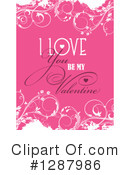 Royalty-Free (RF) Valentines Day Clipart Illustration #1287986