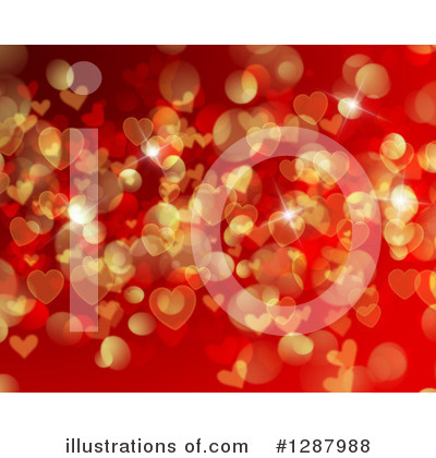 Hearts Clipart #1287988 by KJ Pargeter