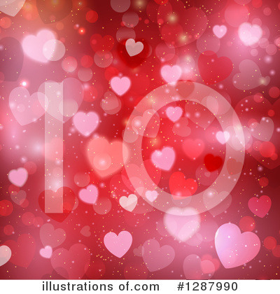 Valentines Day Clipart #1287990 by KJ Pargeter