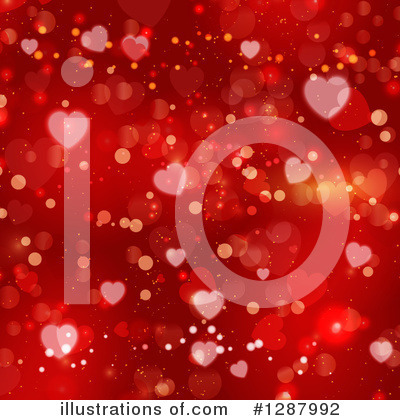 Valentines Day Clipart #1287992 by KJ Pargeter