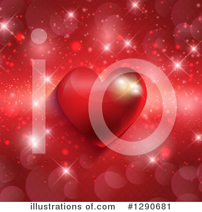 Valentines Day Clipart #1290681 by KJ Pargeter