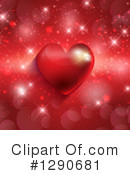 Royalty-Free (RF) Valentines Day Clipart Illustration #1290681