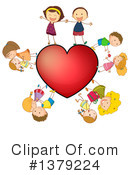 Valentines Day Clipart #1379224 by Graphics RF