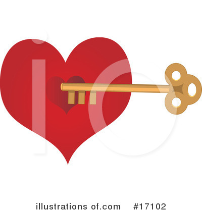Heart Clipart #17102 by Maria Bell