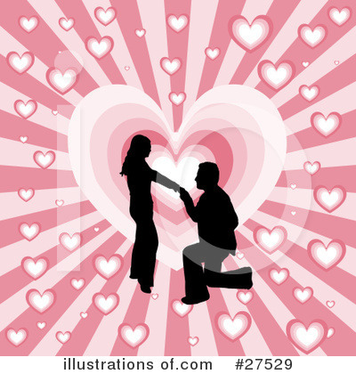 Royalty-Free (RF) Valentines Day Clipart Illustration by KJ Pargeter - Stock Sample #27529