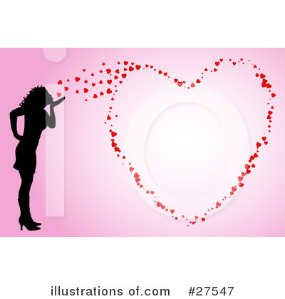 Blowing Kisses Clipart #27547 by KJ Pargeter