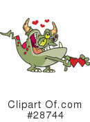 Royalty-Free (RF) Valentines Day Clipart Illustration #28744