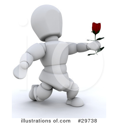 Royalty-Free (RF) Valentines Day Clipart Illustration by KJ Pargeter - Stock Sample #29738