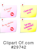 Royalty-Free (RF) Valentines Day Clipart Illustration #29742