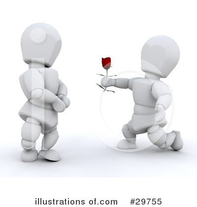 Royalty-Free (RF) Valentines Day Clipart Illustration by KJ Pargeter - Stock Sample #29755