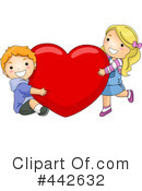 Royalty-Free (RF) valentines day Clipart Illustration #442632