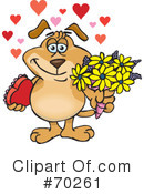 Valentines Day Clipart #70261 by Dennis Holmes Designs