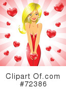 Royalty-Free (RF) Valentines Day Clipart Illustration #72386