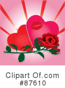 Royalty-Free (RF) valentines day Clipart Illustration #87610