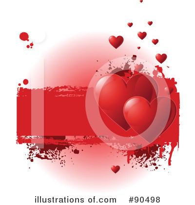 Valentine Background Clipart #90498 by Pushkin