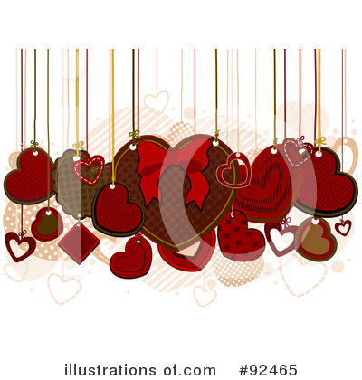 Royalty-Free (RF) Valentines Day Clipart Illustration by BNP Design Studio - Stock Sample #92465