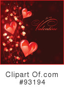 Royalty-Free (RF) Valentines Day Clipart Illustration #93194