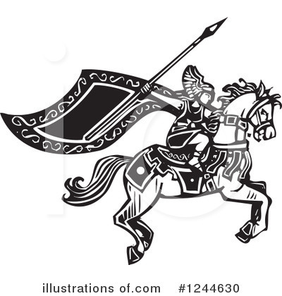 Viking Clipart #1244630 by xunantunich