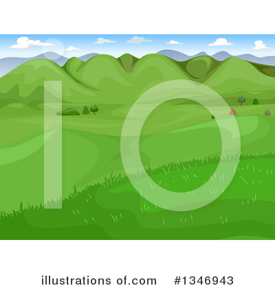Landscape Clipart #1346943 by BNP Design Studio