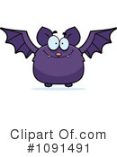 Vampire Bat Clipart #1091491 by Cory Thoman