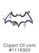 Vampire Bat Clipart #1116320 by Amanda Kate
