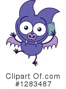 Vampire Bat Clipart #1283487 by Zooco