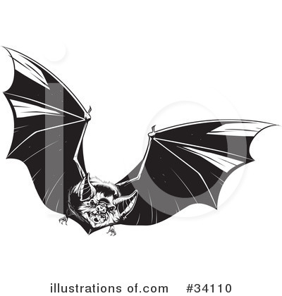 Vampire Clipart #34110 by Lawrence Christmas Illustration