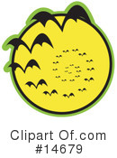 Royalty-Free (RF) Vampire Bats Clipart Illustration #14679