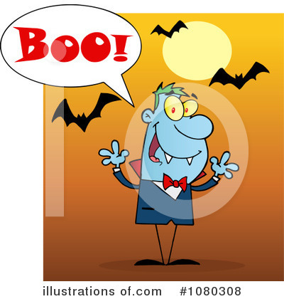 Vampire Clipart #1080308 by Hit Toon