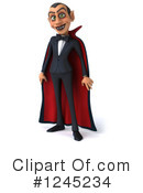 Royalty-Free (RF) Vampire Clipart Illustration #1245234
