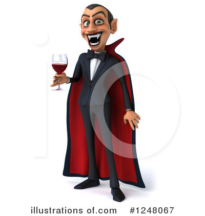 Royalty-Free (RF) Vampire Clipart Illustration by Julos - Stock Sample #1248067