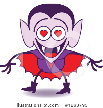 Vampire Clipart #1263793 by Zooco