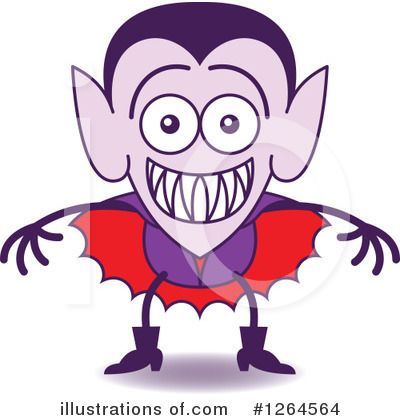 Vampire Clipart #1264564 by Zooco