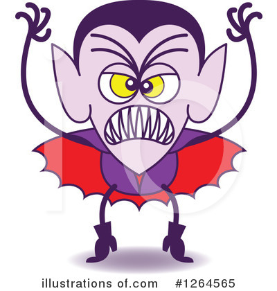 Vampire Clipart #1264565 by Zooco