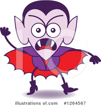 Vampire Clipart #1264567 by Zooco