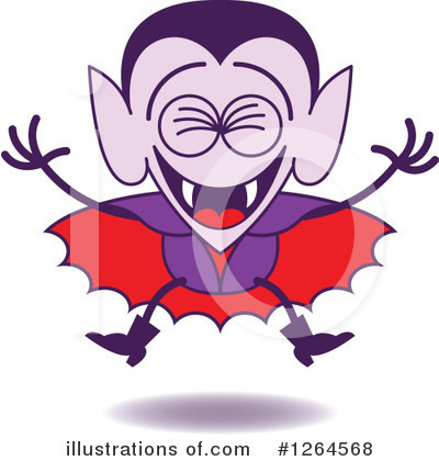 Vampire Clipart #1264568 by Zooco