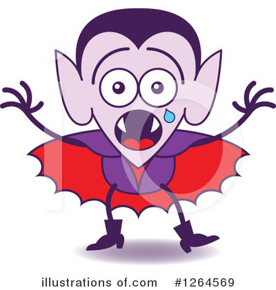 Vampire Clipart #1264569 by Zooco