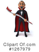 Royalty-Free (RF) Vampire Clipart Illustration #1267979