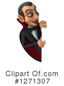 Royalty-Free (RF) Vampire Clipart Illustration #1271307