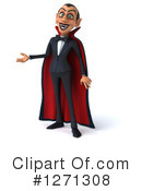 Royalty-Free (RF) Vampire Clipart Illustration #1271308