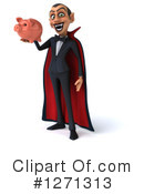 Royalty-Free (RF) Vampire Clipart Illustration #1271313