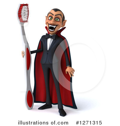 Royalty-Free (RF) Vampire Clipart Illustration by Julos - Stock Sample #1271315