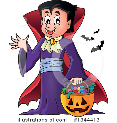 Halloween Clipart #1344413 by visekart