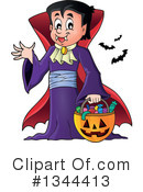 Royalty-Free (RF) Vampire Clipart Illustration #1344413