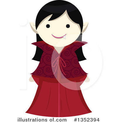 Vampire Clipart #1352394 by BNP Design Studio
