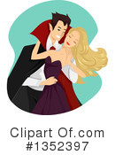 Vampire Clipart #1352397 by BNP Design Studio
