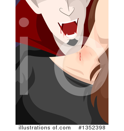 Vampire Clipart #1352398 by BNP Design Studio