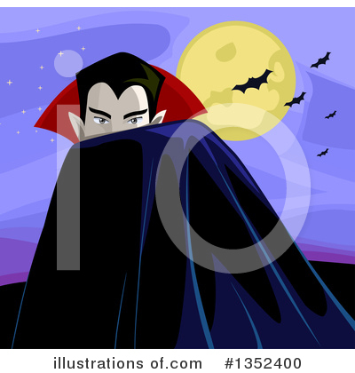 Vampire Clipart #1352400 by BNP Design Studio